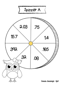 Decimal Spinner Fun!