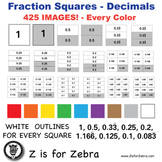 Decimal Square Clip Art 425 Images - Commercial Use OK! Zi