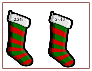 Decimal Stockings