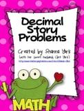 Decimal Story Problems