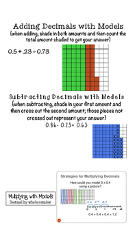 Decimal Study Guide