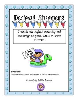 Decimal Stumpers