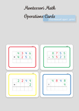 Montessori Math - Decimal System Cards