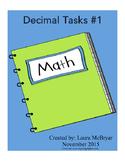 Decimal Tasks #1