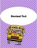 Decimal Test