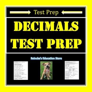 Decimal Test Prep (adding, subtracting, rounding, place va