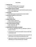 Decimal Test Review Study Sheet
