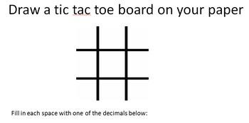 Decimal Tic-Tac-Toe