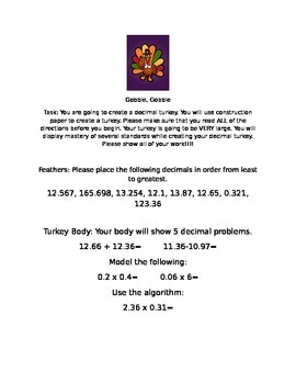 Decimal Turkey
