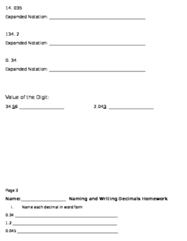 Decimal Unit Bundle (82 page)