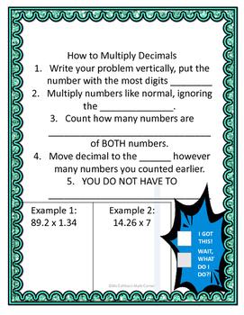 Decimal Unit Notes