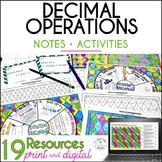 Decimal Operations Resources