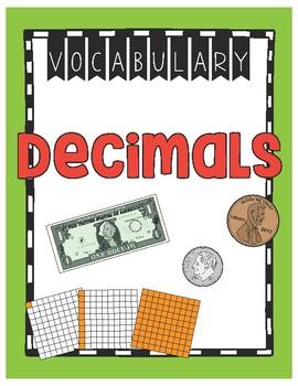 Decimal Vocabulary (4th Grade)