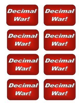 Decimal WAR Cards