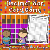 Decimal War Card Game