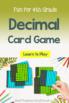 Decimal War Card Game