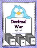 Decimal War To Thousandths