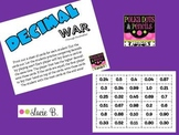 Decimal War through Hundredths