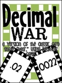 Decimal War - Decimal Card Game