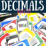 Decimal Game Wild-O {Plays like UNO}