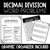 Decimal Word Problems- Division of Decimals (Estimation Included)