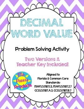 Decimal Word Value