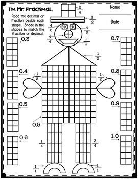 decimals worksheet by elementary lesson plans teachers pay teachers. Black Bedroom Furniture Sets. Home Design Ideas