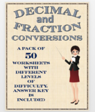 Decimal and Fraction Conversions