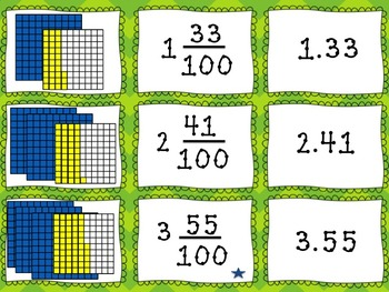 Decimal and Fraction Matching