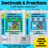 Decimal and Fraction NUMBER SENSE Boom Learning℠ | Spring