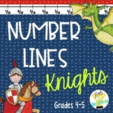 Decimal and Fractions on a Number Line Activity