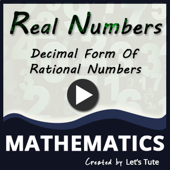 Decimal form of rational numbers