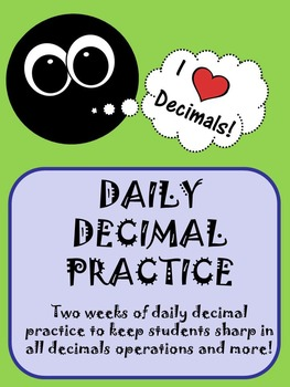 Decimal of the Day!