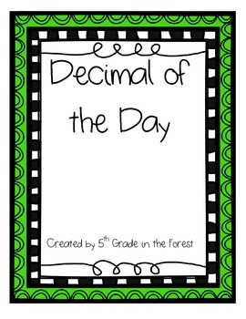 Decimal of the Day Pack