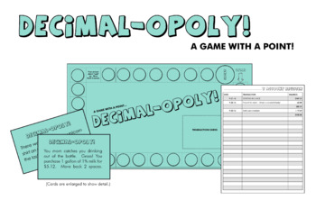 Decimal-opoly!  - A Game with a Point