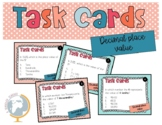 Decimal place value task cards 5.nbt.1