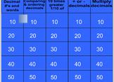 Decimal review  SMART Notebook file