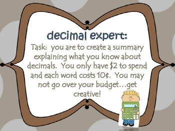 Decimal {summarizer}