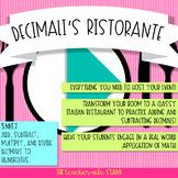 Decimali's Ristorante Classroom Transformation Decimal Experience