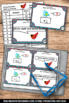Write as a Decimal Task Cards ( Tenths ) 4th Grade Math Review Game SCOOT