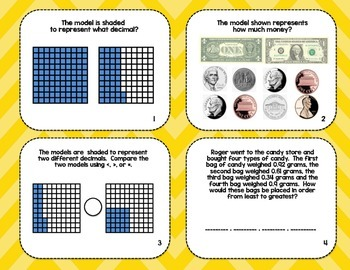 Name that Decimal! Task Cards