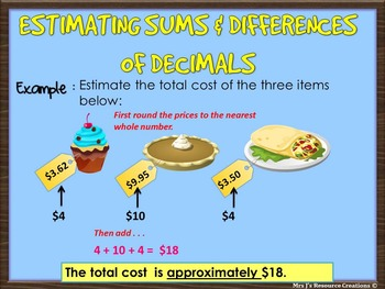 Decimals unit: Guided powerpoint lessons and worksheets