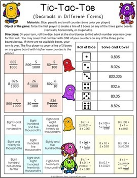 Lucrative image with 5th grade printable math games