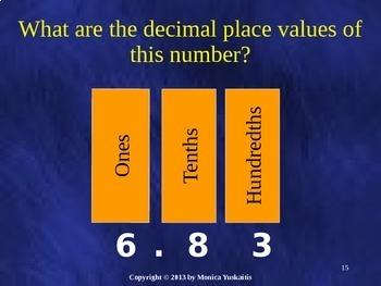 Common Core 4th - Decimals 2 - Comparing Decimals