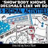 Decimal Activities: Winter Theme