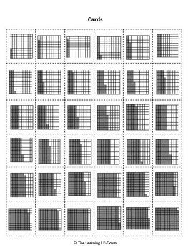 Decimals: A Partner Bingo Game