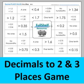 Decimals Activities BUNDLE