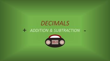 Decimals: Addition & Subtraction