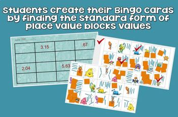 Decimals Bingo - Tenths and Hundredths - DIGITAL RESOURCE