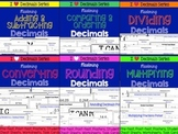 Decimals Bundle-Adding, Subtracting, Dividing, Multiplying, Rounding, Converting
